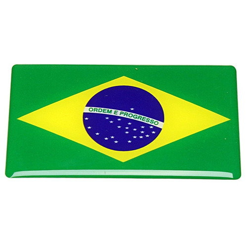 Imagem 1 de 3 de Kit Bandeira / 2- Brasil / 2 Chile / 2 Argentina