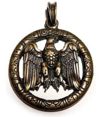 Brasão Alemão Águia Em Bronze