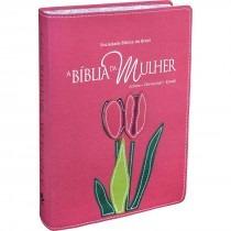 Biblia Estudo Da Mulher Grande Beiras Floridas