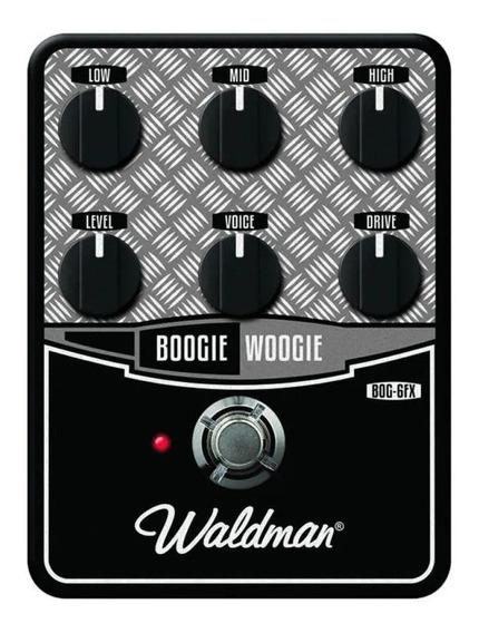 Pedal De Guitarra Waldman Distortion Boogie Woogie Bog-6fx