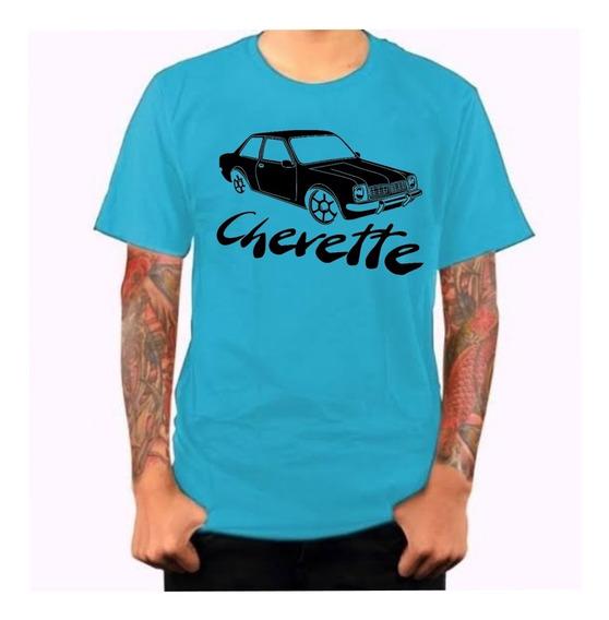 Camiseta Camisa Masculina Chevetteiros Carro Chevette Barato