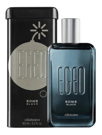 Egeo Bomb Black Masculino Colônia, 90ml O Boticário