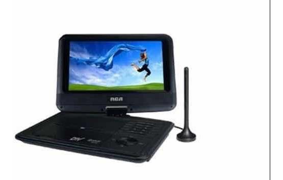 Televisor Digital Portátil Con Reproductor De Dvd - Rca