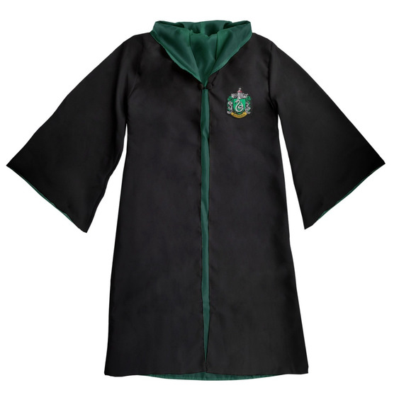Capa Manto Harry Potter - Bordado! Fantasia Cosplay Uniforme