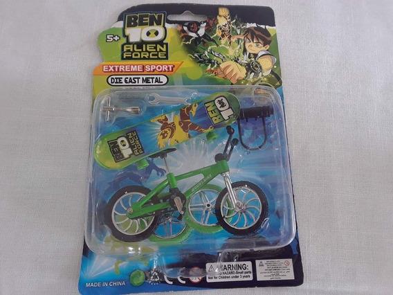 Ben 10 Set De Bicicleta Y Patineta Con Repuestoy Herramienta