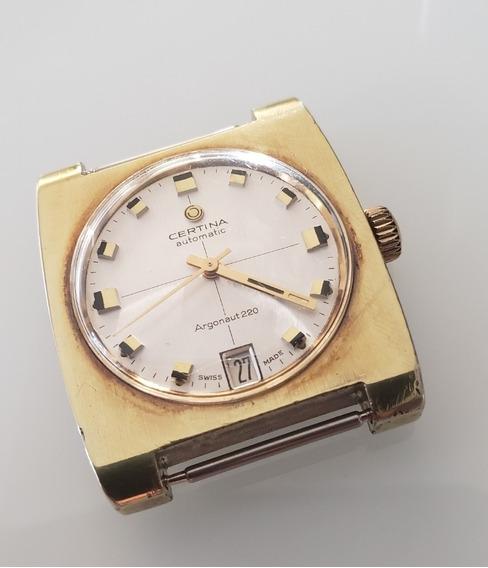 Relógio Antigo Certina Argonaut