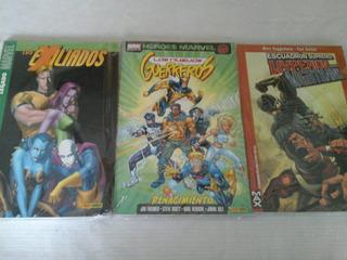 Lote Libros Marvel - 3 Ejs (panini)