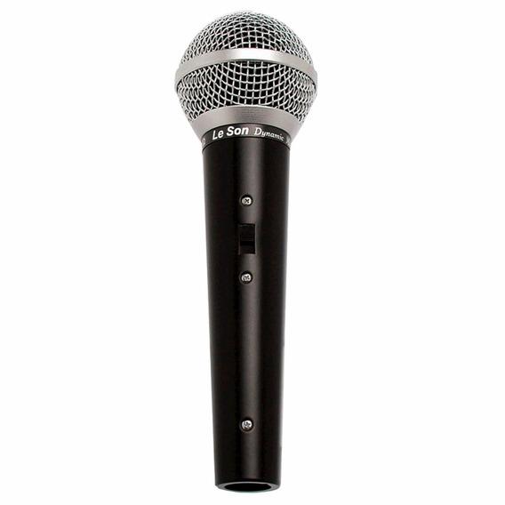 Microfone Leson Ls 50 Somos Loja Física..