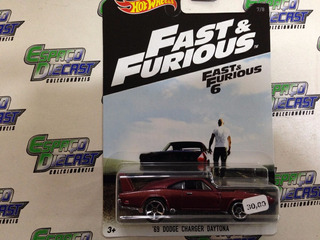 69 Dodge Daytona Fast Velozes Furiosos Hot Wheels Outlet