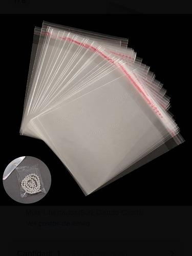 Bolsas De Celofan Transparentes Polipropileno 23*30 C/ Adhes