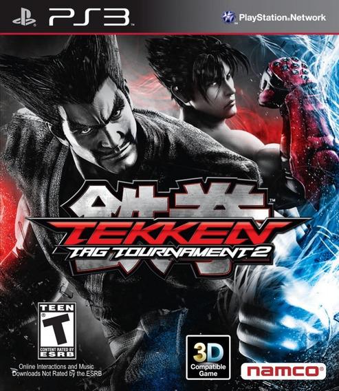 Tekken Tag Tournament 2 [psn Ps3] Envio Rapido