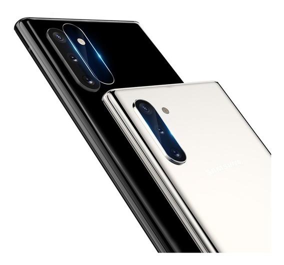 2 Micas Camara Samsung Note 10+ Nillkin Invisifilm Dual