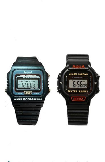 2 Relógios Masculino De Pulso Digital Barato Prova D