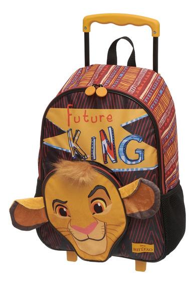 Mala C/carrinho Grande O Rei Leão - The Leon King - 921c0