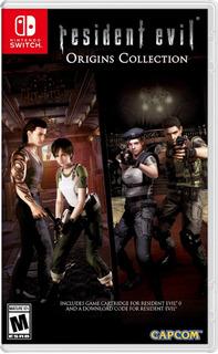 Resident Evil Origins Collection Nintendo Switch Nuevo /v
