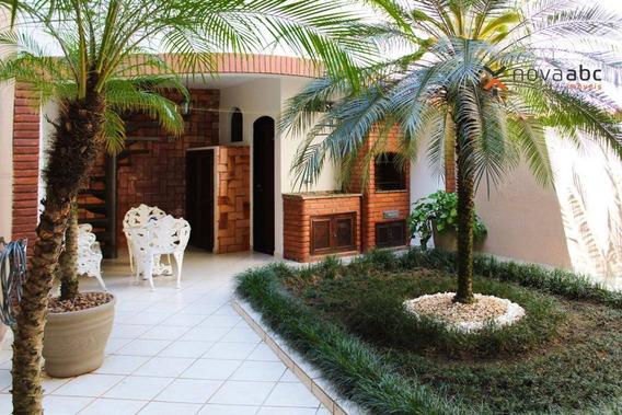 Sobrado Com 3 Dormitórios À Venda, 231 M² Por R$ 730.000 - Vila Mazzei - Santo André/sp - So0236
