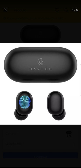 Fone Bluetooth 5.0 Haylou Gt1 Pronta Entrega!