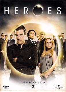 Dvd Heroes Temporada 3 Zona 4