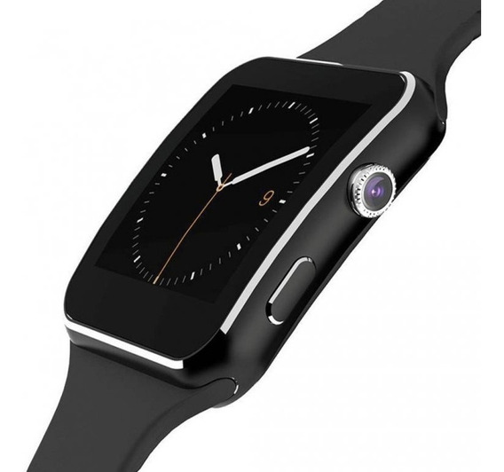 Smart Watch X6 2018 Curvo Reloj Inteligente Celular Camara
