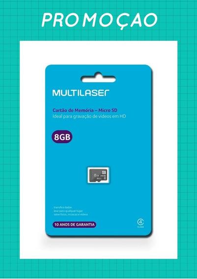 Cartao Memoria 08gb Micro Sd Multilaser Promoção (original)