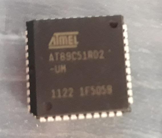 Microcontrolador At89c51rd2 -um Plcc44 - Atmel