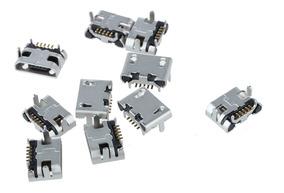 Kit 10 Conectores Micro Usb Para Tablet Multilaser, Cce Dl