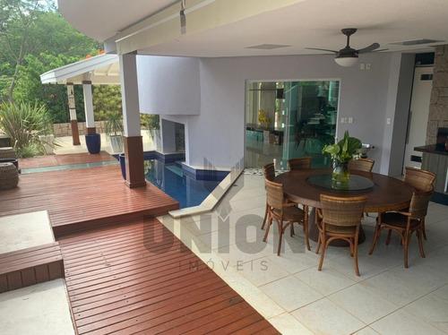 Casa Cheia De Estilo À Venda No Charmoso Condomínio Moinho De Vento-valinhos/sp. - Ca00140 - 69382733