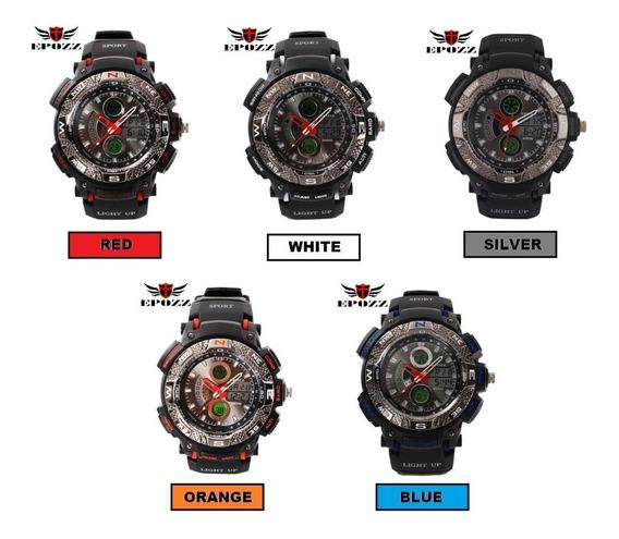 Relógio De Pulso Epozz Caixa Promocional Com 3 Unidades