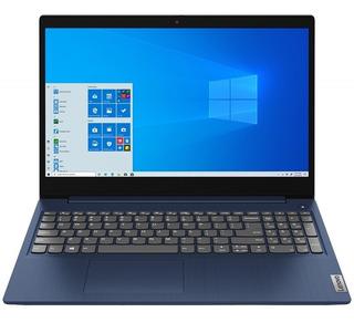 Notebook Lenovo Intel I3 10th 8gb Ssd 256gb 15.6 Hd Win10