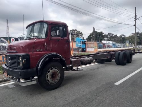 Mb 1318 Truck No Chassi Alongado