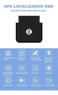 Rastreador Gps Tracker Obd2 Localizador Auto Moto Con App