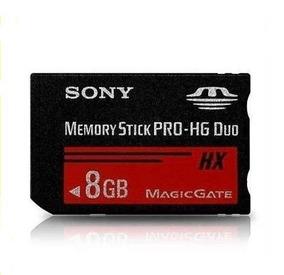 Cartão Memory Stick Sony Pro Hg Duo Hx - 8gb