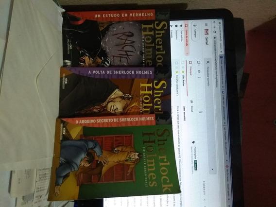 Livro Kit Sherlock Holmes 03 Volumes