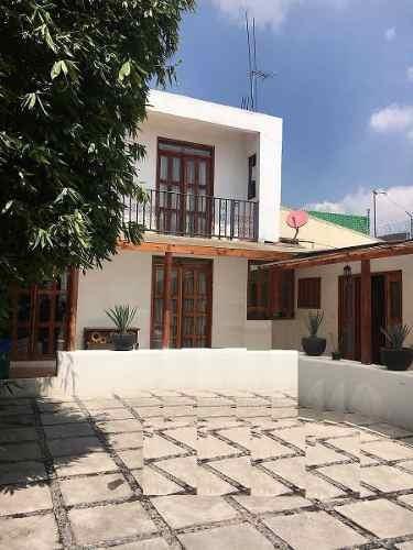 Venta Casa En Zona Campestre Al Sur De La Cdmx En Tlalpan
