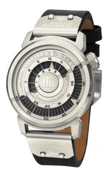 Relógio Yankee Street Unissex - Ys38301t - Cor Preto/prata