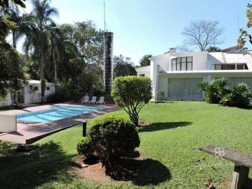 Casa Com 5 Dormitórios À Venda, 804 M² Por R$ 2.450.000 - Jardim Colonial - Granja Viana - Carapicuíba/sp - Ca0534