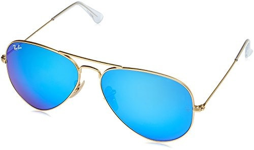 8c7ab1fc30 Ray-ban Rb3025 Aviator Flash Lenses - Gafas De Sol, Unisex,