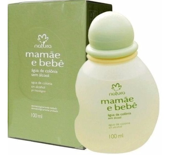 Natura Colonia Mamãe Bebe 100ml Tradicional+brinde