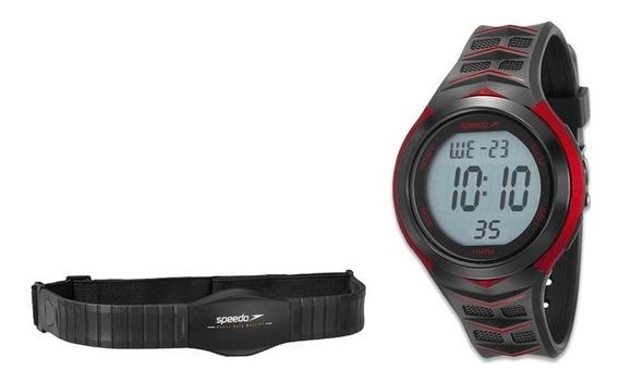 Relógio Speedo Masculino Ref: 80621g0evnp1 Monitor Cardíaco