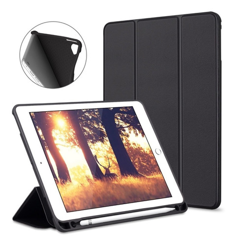 Capa Smartcase P/ Apple New iPad 10.2 7ª G Suporte P Pencil