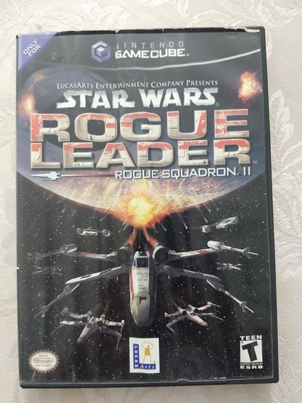 Jogo Game Cube Rogue Squadron Rogue Leader