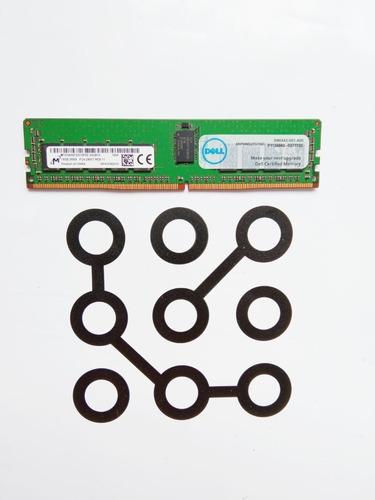 Imagem 1 de 1 de 16gb Ddr4 Rdimm Ecc 2400t Dell T430 T630 R430 R630 R730 R530