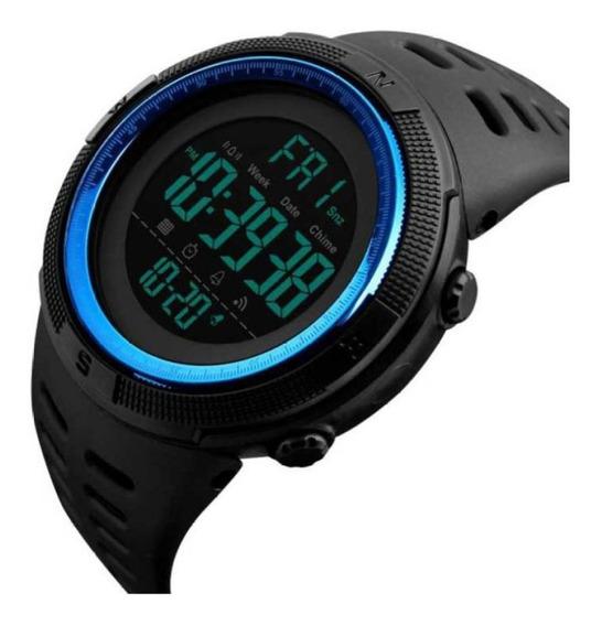 Skmei 1251 Reloj Hombre Deportivo Caballero Elegante Digital