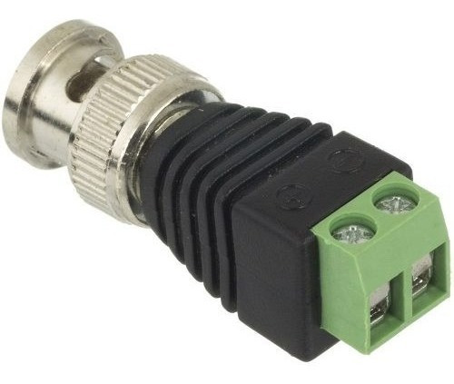 Kit 10 Plug Conector P4 Bnc Borne Kre P/ Cftv Camera Segura