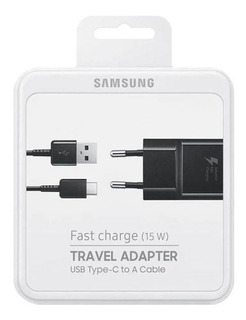 Carregador Samsung Original Fast Charge Tipo C S8 S9 S10plus