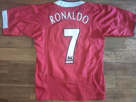 Camiseta Manchester United Vodafone # 7 Cristiano Ronaldo
