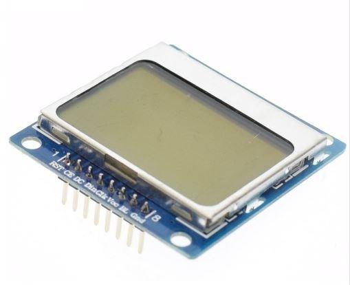 1pçs Display Lcd Gráfico Nokia 5110 84x84 Backlight Azul