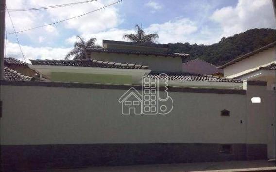 Casa Residencial À Venda, Itaipu, Niterói. - Ca0458