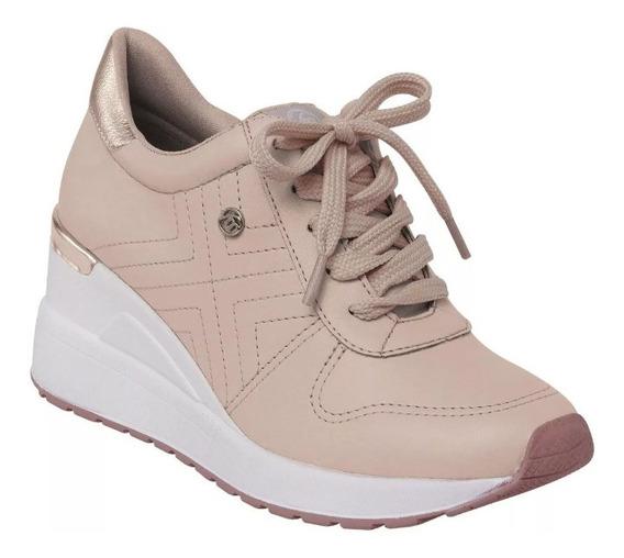 Tenis Feminino Via Marte Salto Anabela Sneaker 19-3353
