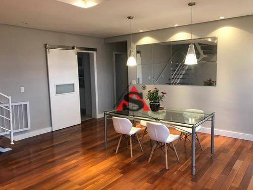 Imagem 1 de 18 de Cobertura Com 3 Dormitórios À Venda, 263 M² Por R$ 1.599.000,00 - Jardim Da Saúde - São Paulo/sp - Co1133